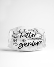 Life is Better in the Garden Cloth face mask aos-face-mask-lifestyle-22