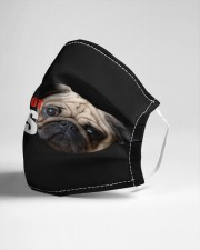 Pugs Not Drugs Cloth face mask aos-face-mask-lifestyle-21