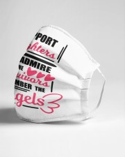 Support the fighters Cloth face mask aos-face-mask-lifestyle-21