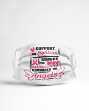 Support the fighters Cloth face mask aos-face-mask-lifestyle-22