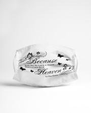 A Little Bit of Heaven Cloth face mask aos-face-mask-lifestyle-22