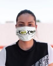 LH Xoxo 911 Cloth face mask aos-face-mask-lifestyle-03