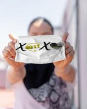 LH Xoxo 911 Cloth face mask aos-face-mask-lifestyle-07