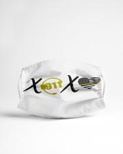 LH Xoxo 911 Cloth face mask aos-face-mask-lifestyle-22