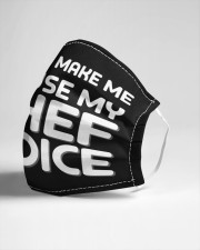 use my chef voice Cloth face mask aos-face-mask-lifestyle-21