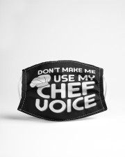 use my chef voice Cloth face mask aos-face-mask-lifestyle-22