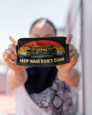 LH Jeep Hair Don't Care Cloth face mask aos-face-mask-lifestyle-07