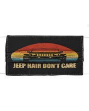 LH Jeep Hair Don't Care Cloth face mask front
