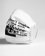 Dont make me ask Cloth face mask aos-face-mask-lifestyle-21