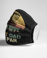 Disc golf dad Cloth face mask aos-face-mask-lifestyle-21