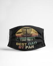 Disc golf dad Cloth face mask aos-face-mask-lifestyle-22