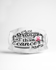 Stronger than cancer Cloth face mask aos-face-mask-lifestyle-22