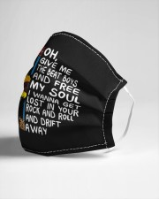 Oh give me the beat boys Cloth face mask aos-face-mask-lifestyle-21
