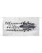 OO-B-15072030-Blessed are the peace makers Cloth face mask front