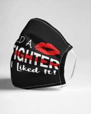 I kissed a firefighter Cloth face mask aos-face-mask-lifestyle-21