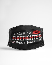 I kissed a firefighter Cloth face mask aos-face-mask-lifestyle-22