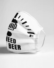 I need one beer Cloth face mask aos-face-mask-lifestyle-21