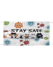 LH Stay Safe Horse Cloth face mask front