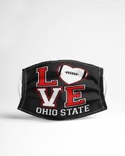 Love ohio football Cloth face mask aos-face-mask-lifestyle-22