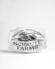 Schrute Farms Cloth face mask aos-face-mask-lifestyle-22