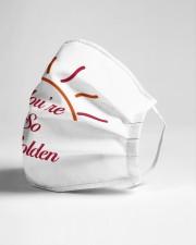 You are so golden Cloth face mask aos-face-mask-lifestyle-21