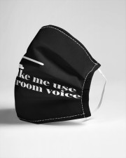 My Courtroom Voice Cloth face mask aos-face-mask-lifestyle-21