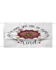 Be Kind Cloth face mask front
