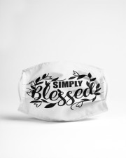 Simply blessed Cloth face mask aos-face-mask-lifestyle-22