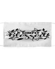 Simply blessed Cloth face mask front