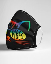 Good Vibes Kitty Cloth face mask aos-face-mask-lifestyle-21
