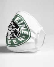 Caffeine Queen Cloth face mask aos-face-mask-lifestyle-21
