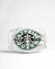 Caffeine Queen Cloth face mask aos-face-mask-lifestyle-22