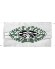 Caffeine Queen Cloth face mask front