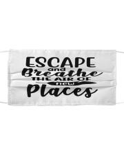 CP escape and breath Cloth face mask front