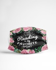 Reading Is My Favorite Cloth face mask aos-face-mask-lifestyle-22