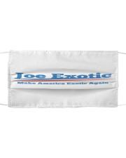 Joe Exotic Cloth face mask front
