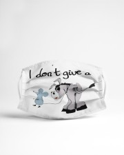 I dont give a rat Cloth face mask aos-face-mask-lifestyle-22