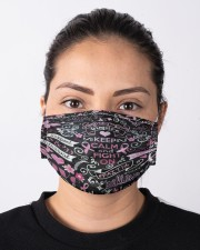 LH Fight On Breast Cancer Cloth face mask aos-face-mask-lifestyle-01