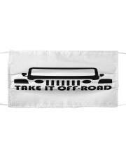 LH Take It Off Road Cloth face mask front