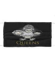 Golden Queens Cloth face mask front