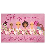 God Say You Are Breast Cancer 17x11 Poster front