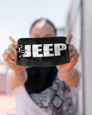 LH Jeep Funny Cloth face mask aos-face-mask-lifestyle-07
