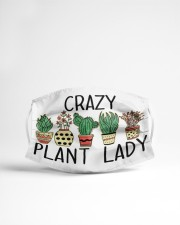 Crazy plant lady Cloth face mask aos-face-mask-lifestyle-22