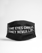 The eyes chico Cloth face mask aos-face-mask-lifestyle-22