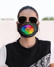 Be Kind Daisy Cloth face mask aos-face-mask-lifestyle-02