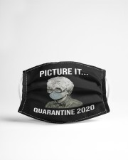 Picture it quarantine Cloth face mask aos-face-mask-lifestyle-22