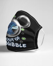 Stay Out Of My Bubble Cloth face mask aos-face-mask-lifestyle-21