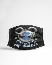 Stay Out Of My Bubble Cloth face mask aos-face-mask-lifestyle-22