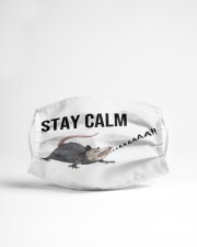 Stay calm Cloth face mask aos-face-mask-lifestyle-22