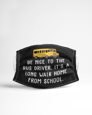 School Bus Driver Cloth face mask aos-face-mask-lifestyle-22